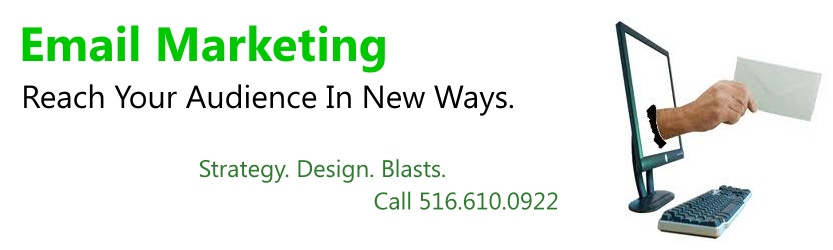 Email Marketing Long Island, Email Blasts, Reach Your Audience