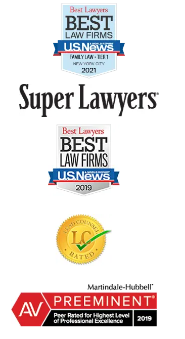 logos and badges of lawyer awards